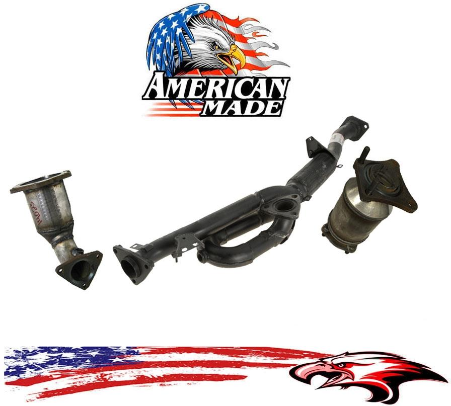Engine Y Flex Pipe for Nissan Maxima 3.5L Production Date 06//2001 to 12//2002