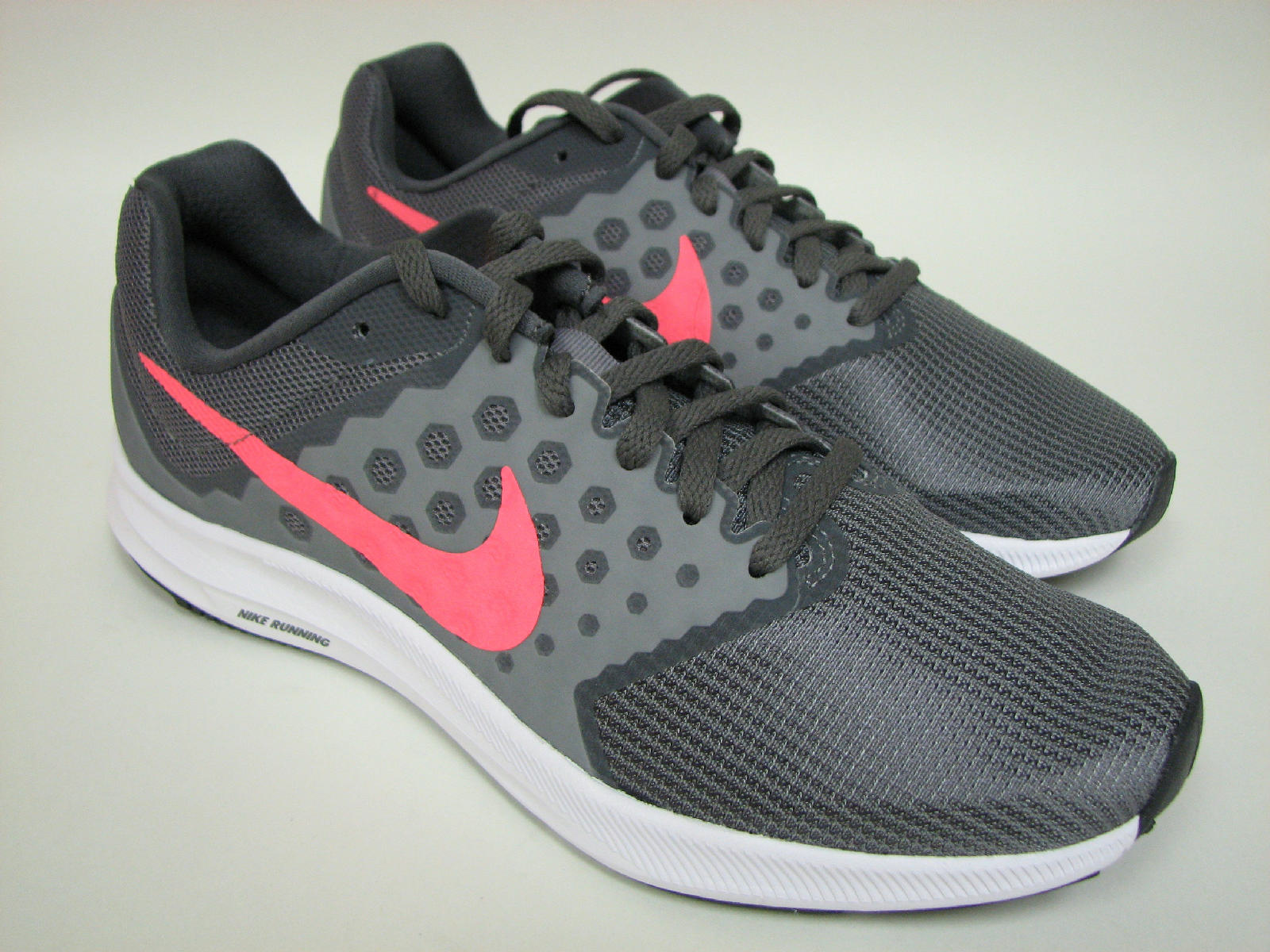 8d4c425c95a7 Nike Downshifter 7 Running Shoes 852466-001 Cool Grey Lava White ...