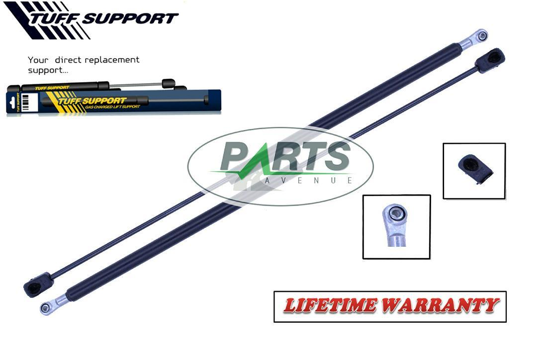 Qty StrongArm 4316 Rear Window Glass Lift Supports Struts Shocks Springs 2
