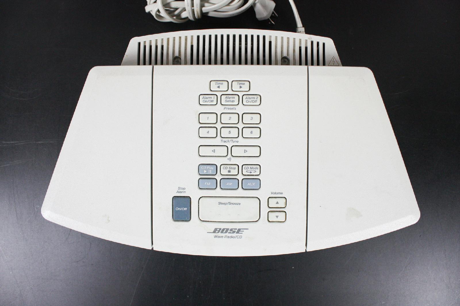 bose awrc1p am fm wave radio cd player alarm clock ebay. Black Bedroom Furniture Sets. Home Design Ideas