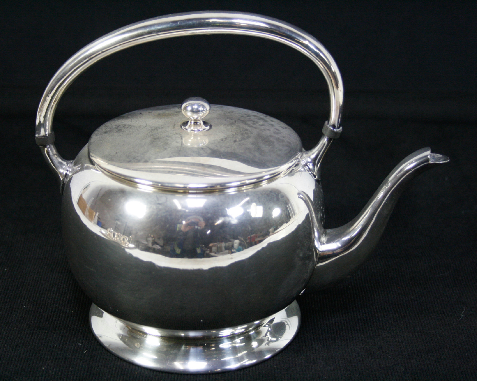 how to clean silver on copper tea set