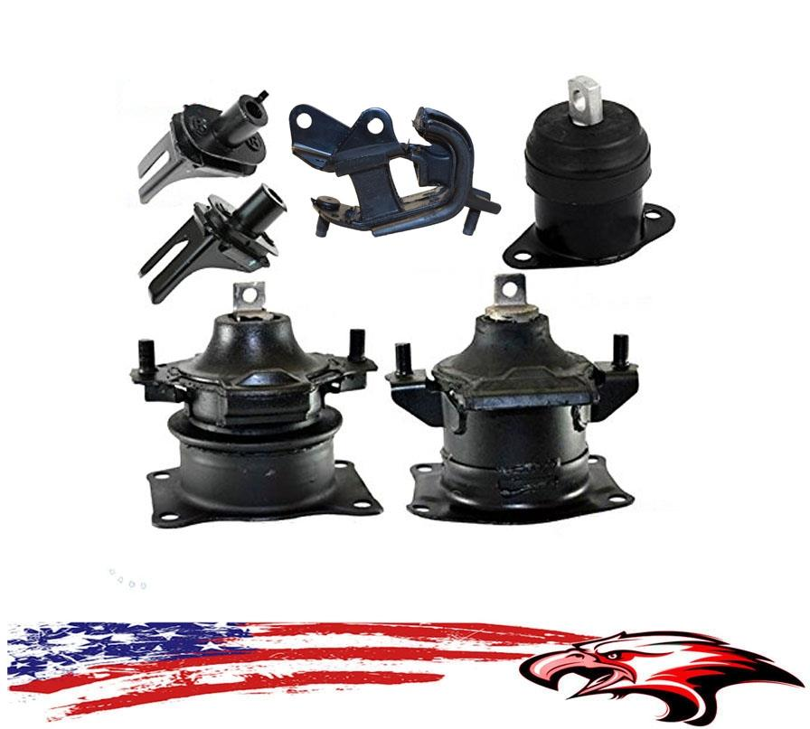 Engine And Transmission Mounts 6pc Kit Acura TL 2004-2008