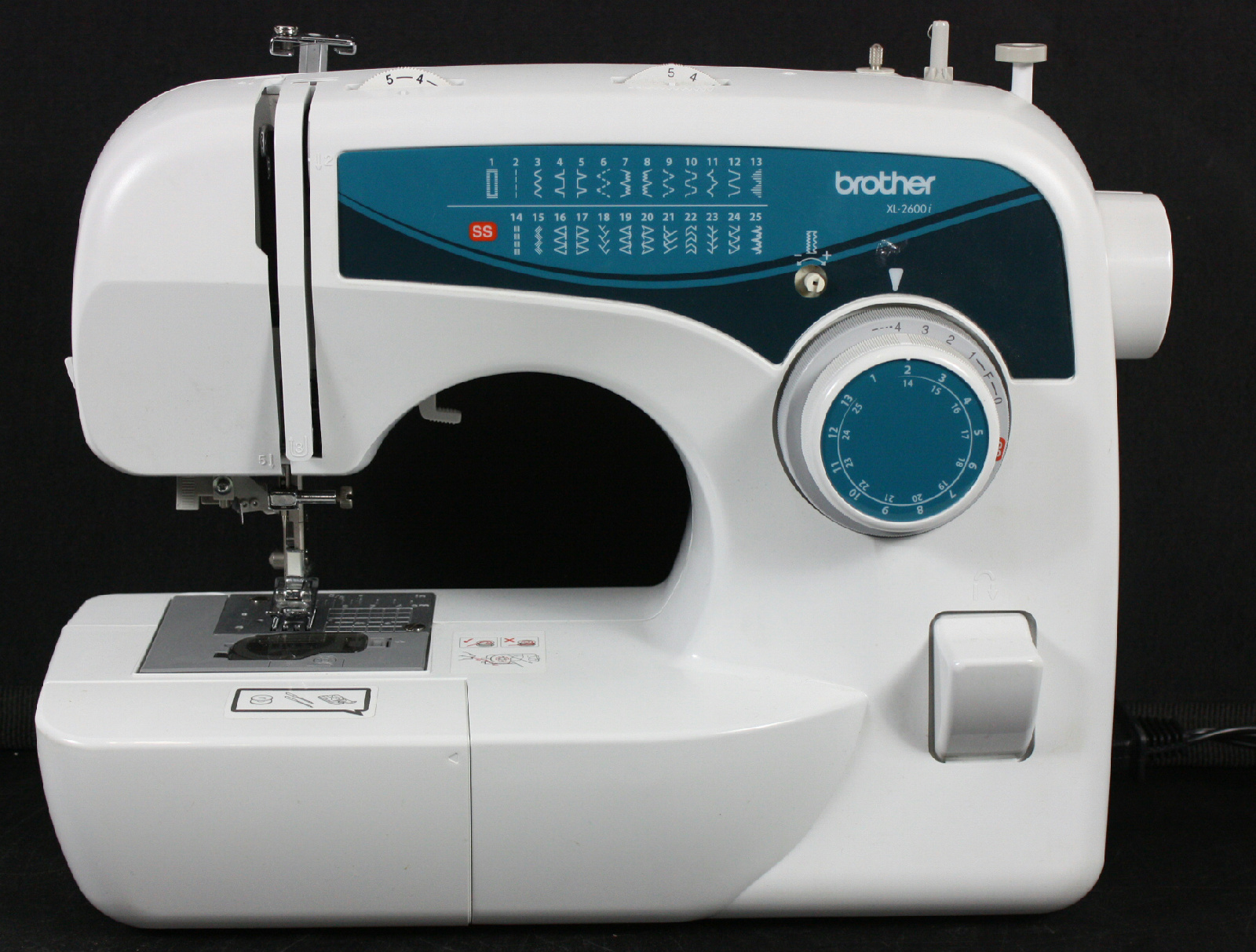 Brother xl2600i mechanical sewing machine 25 stitch free for Machine a coudre xl 2600 brother