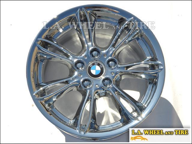 Set Of 4 Chrome 17 Quot Bmw Z4 Quot Style 103 Quot E85 Oem Wheels Rims