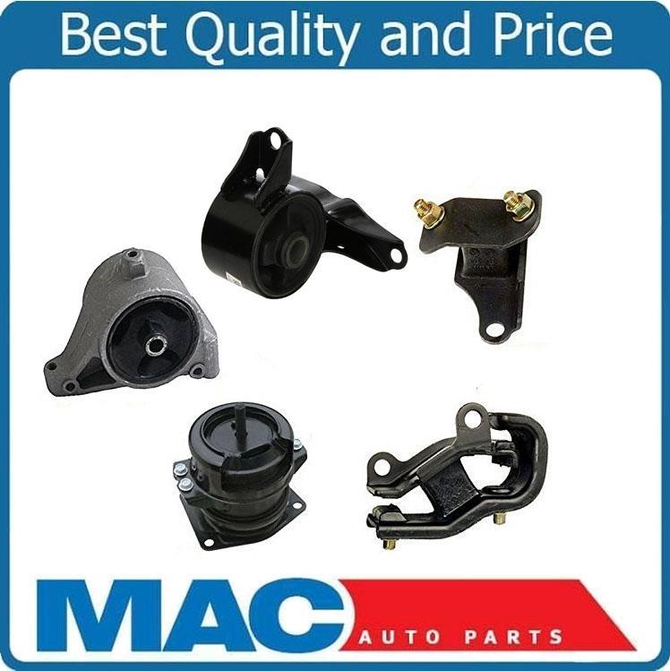 5 Pcs Engine & Transmission Mount Kit Fits 01-02 Acura MDX