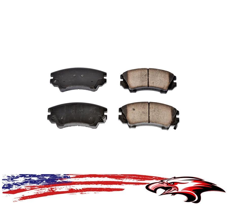 Brand New Front and Rear Ceramic Brake Pads for Chevrolet Corvette 1997-2008