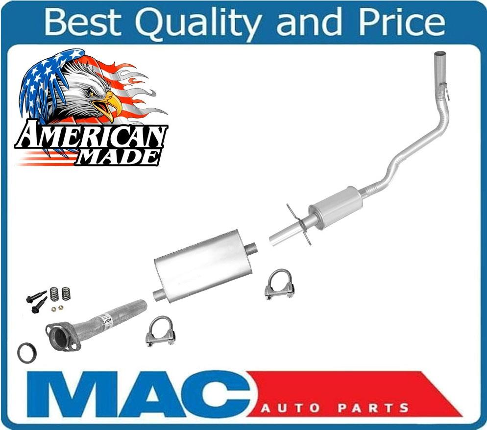 100/% NEW Middle Muffler and Tail Pipe MADE IN USA for Jeep Cherokee 4.0L 87-92