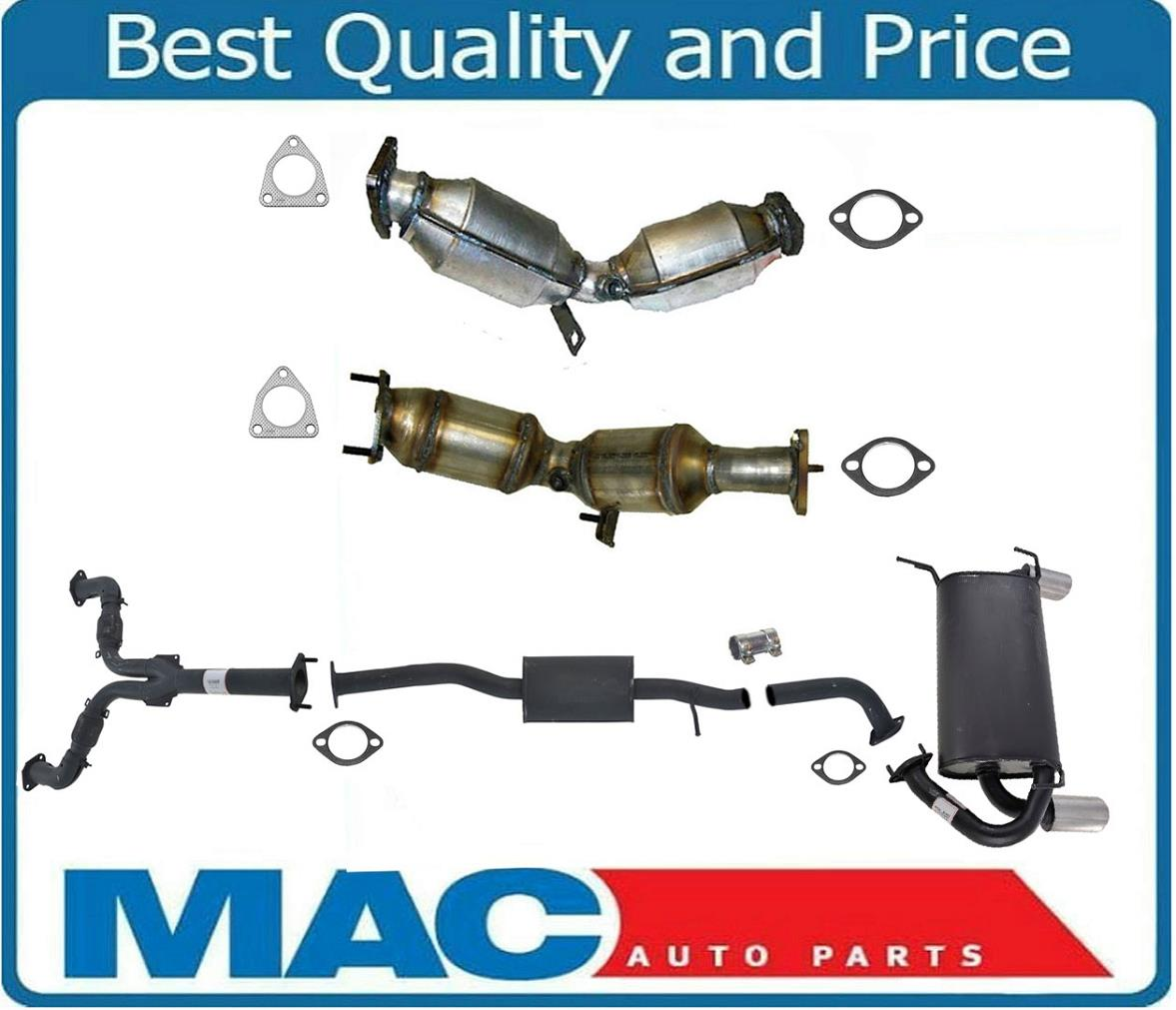 fits />INFINITI G35 3.5L 2003 to 2007 6 CYL D//S DUAL Catalytic Converters COUPE