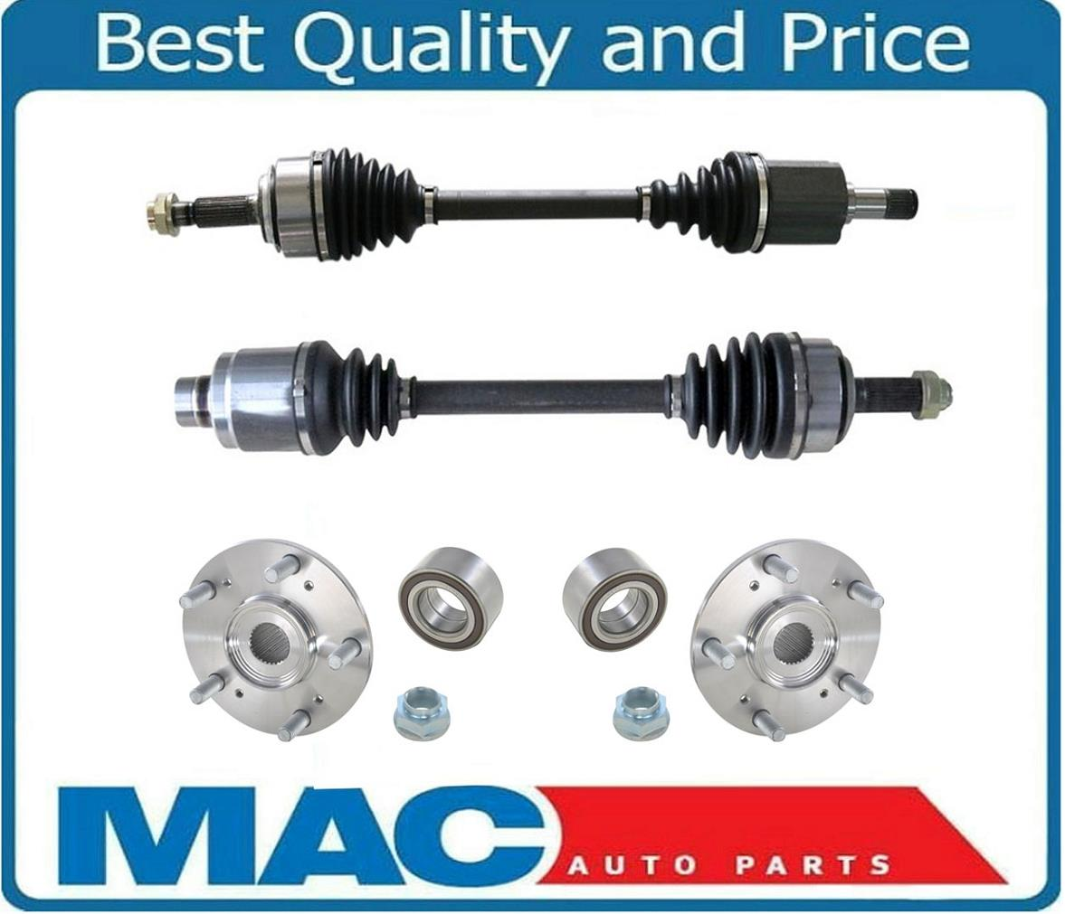 Front Axles & Wheel Hubs For Acura TL & TYPE S 3.2L 07-08