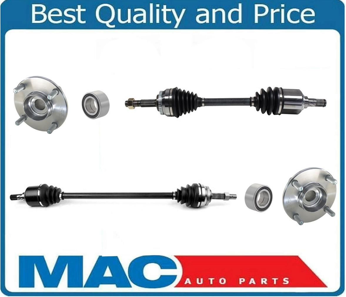 Frt CV Drive Axle Shafts 2 New For 01-04 Escape 2.0L 4 Cly Manual Transmission