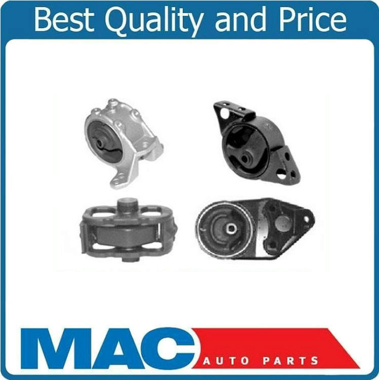 ENGINE MOTOR /& TRANS MOUNT SET FOR 1991-1996 INFINITI G20 2.0L MANUAL
