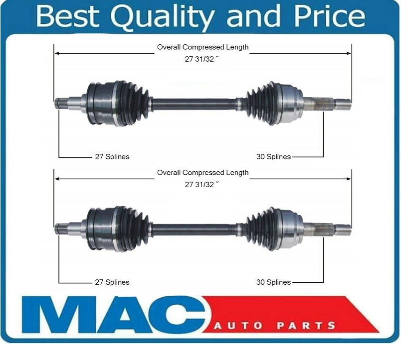Front Driver Side CV Axle Shaft For TOYOTA SEQUOIA 01-07 4WD