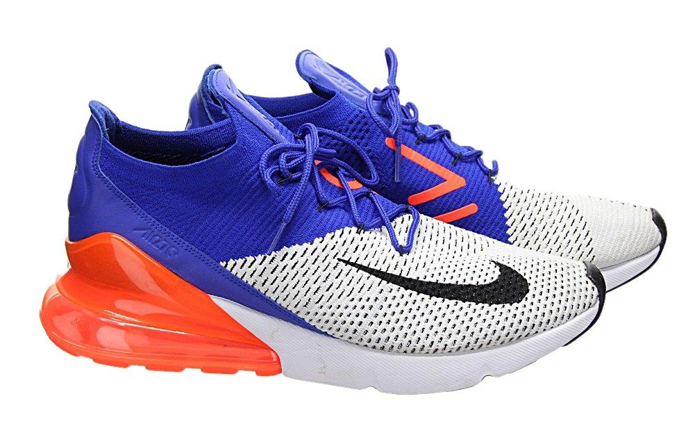 79da8c7e Nike Air Max 270 Flyknit Racer Blue/Total Crimson Men's Sneakers ...
