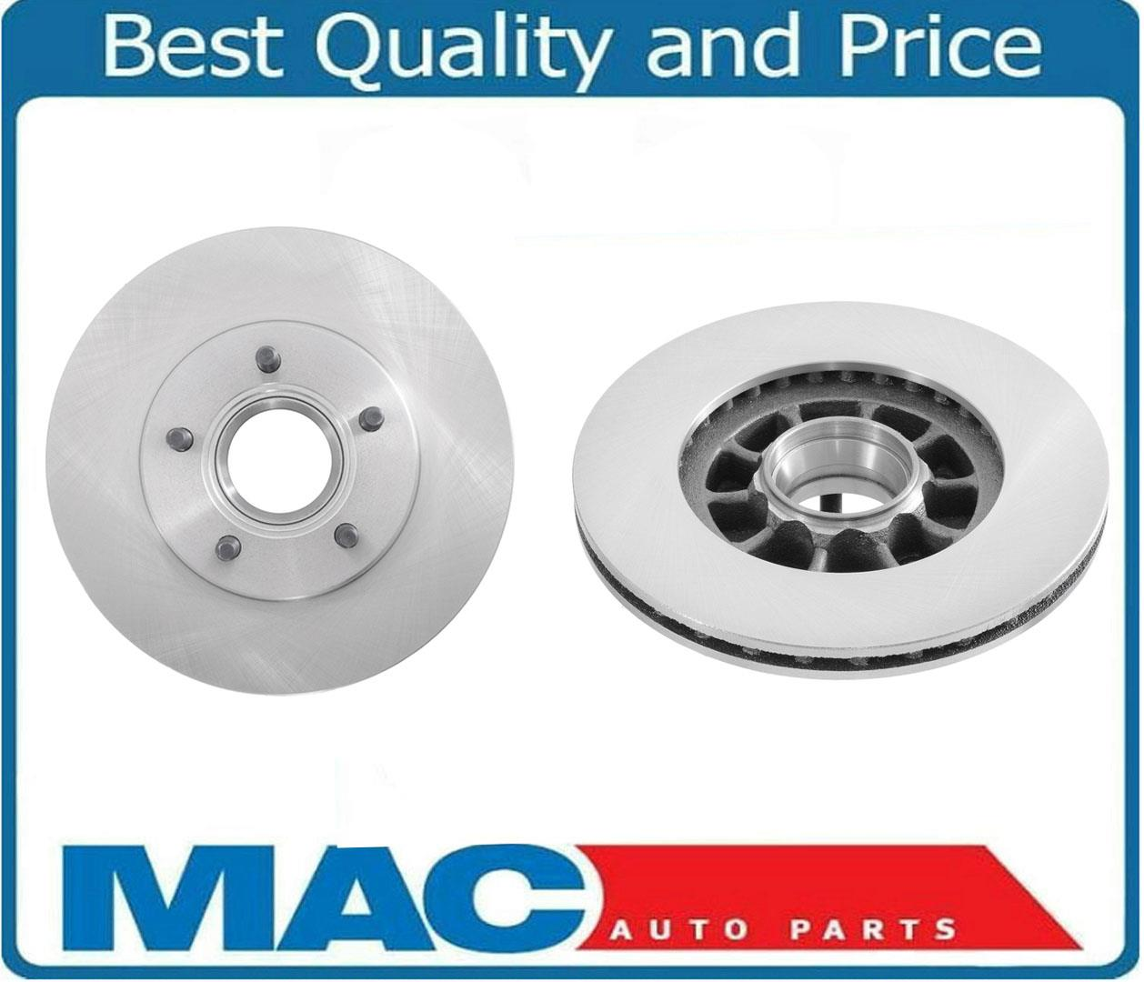 RAYBESTOS Front Disc Brake Rotors Left /& Right Pair Set for Ford Mazda 2WD RWD