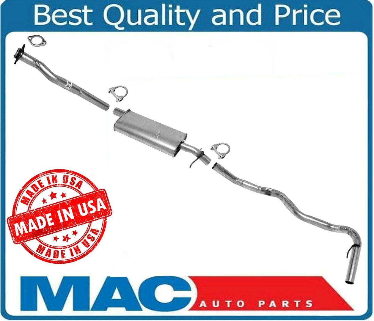 1992-1993 2 Wheel Drive S10 S15 2.8L 4.3L Pick Up 117 WB Muffler Exhaust System