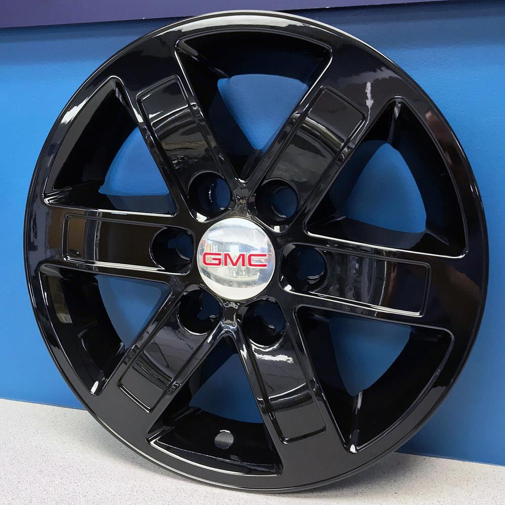 "FREE SHIPPING 07-2014 GMC Savana Sierra /& Yukon 17/"" Chrome Wheel Skins #358X"