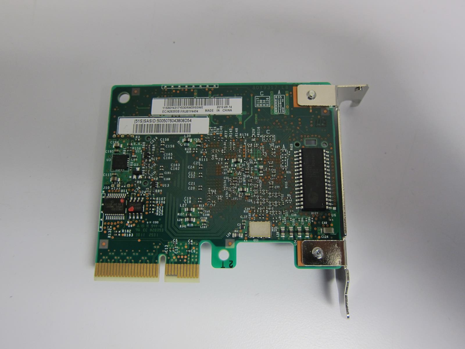 **✿•STANDARD PCI BRACKET•✿•**IBM ServeRAID M1115 81Y4448 Storage Controller RAID