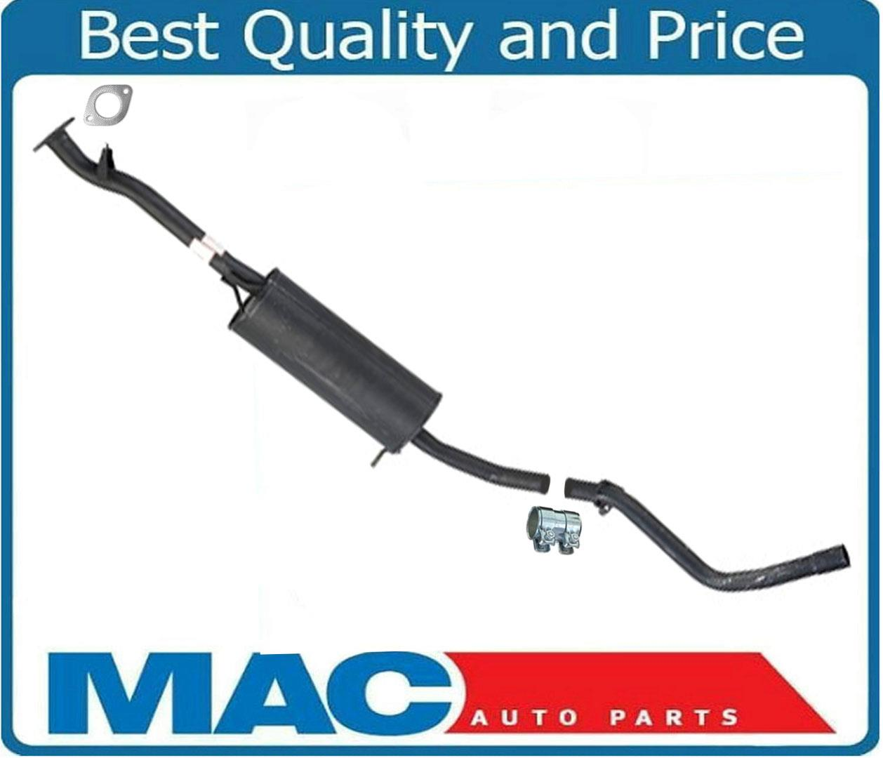 Brand New Middle Muffler /& Tail Pipe Exhaust For 1999-2000 Nissan Frontier 3.3L