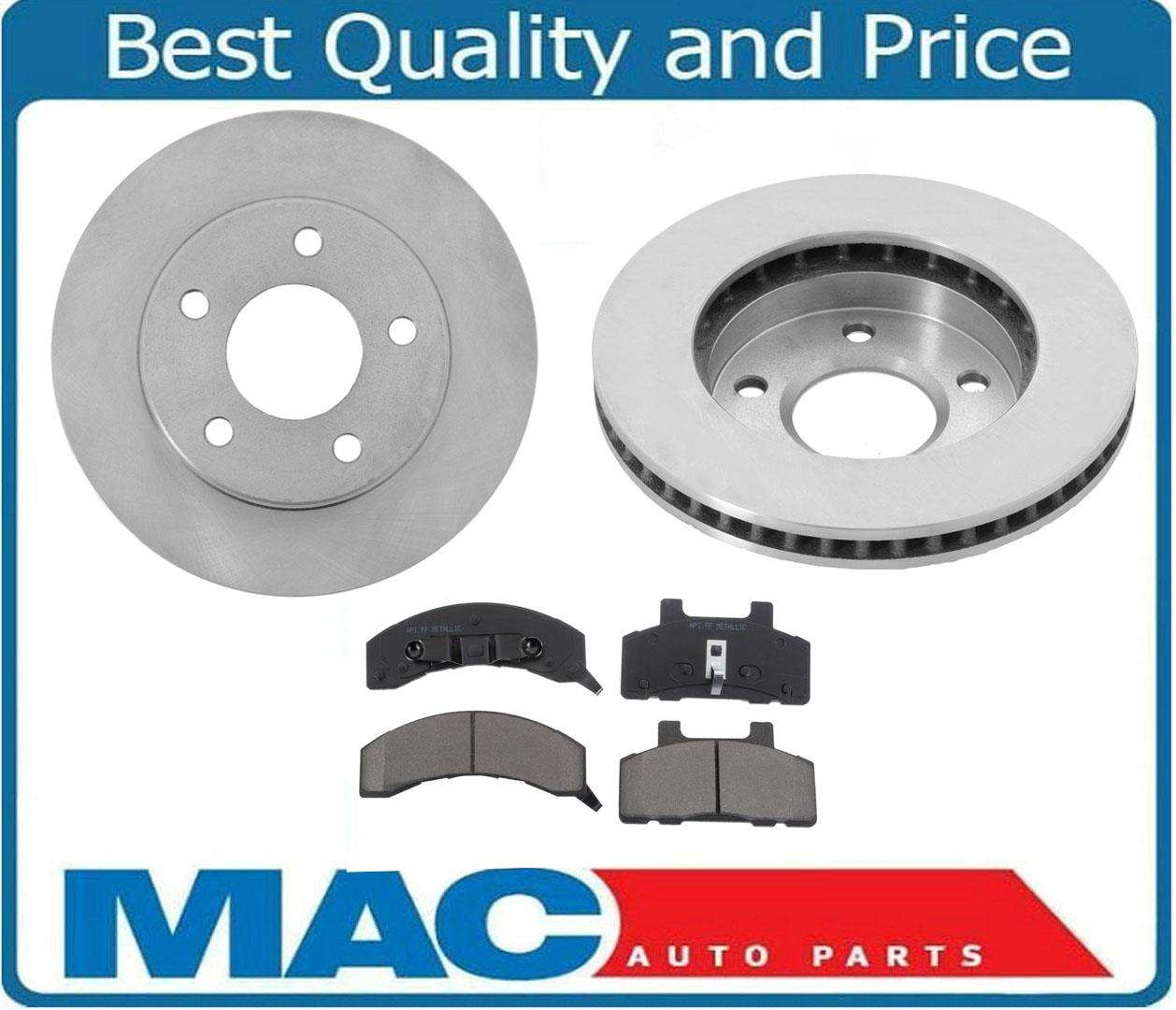For 1983-1996 Buick Century V6 Only Front Disc Rotors