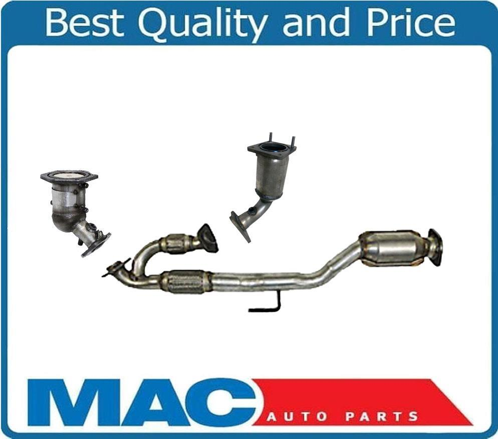 Engine Pipe With Flex and Catalytic Converter Fits Nissan Murano 2009-2014