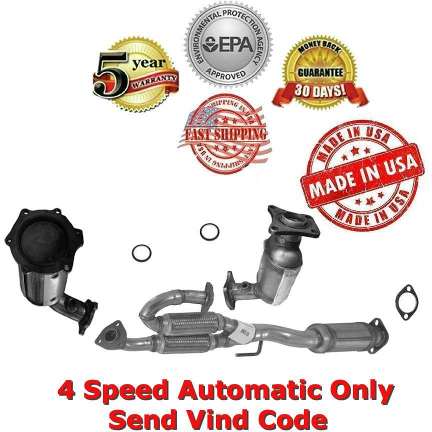 2005-2006 Nissan Altima 3.5L Catalytic converter With Flex 5 Speed Fits