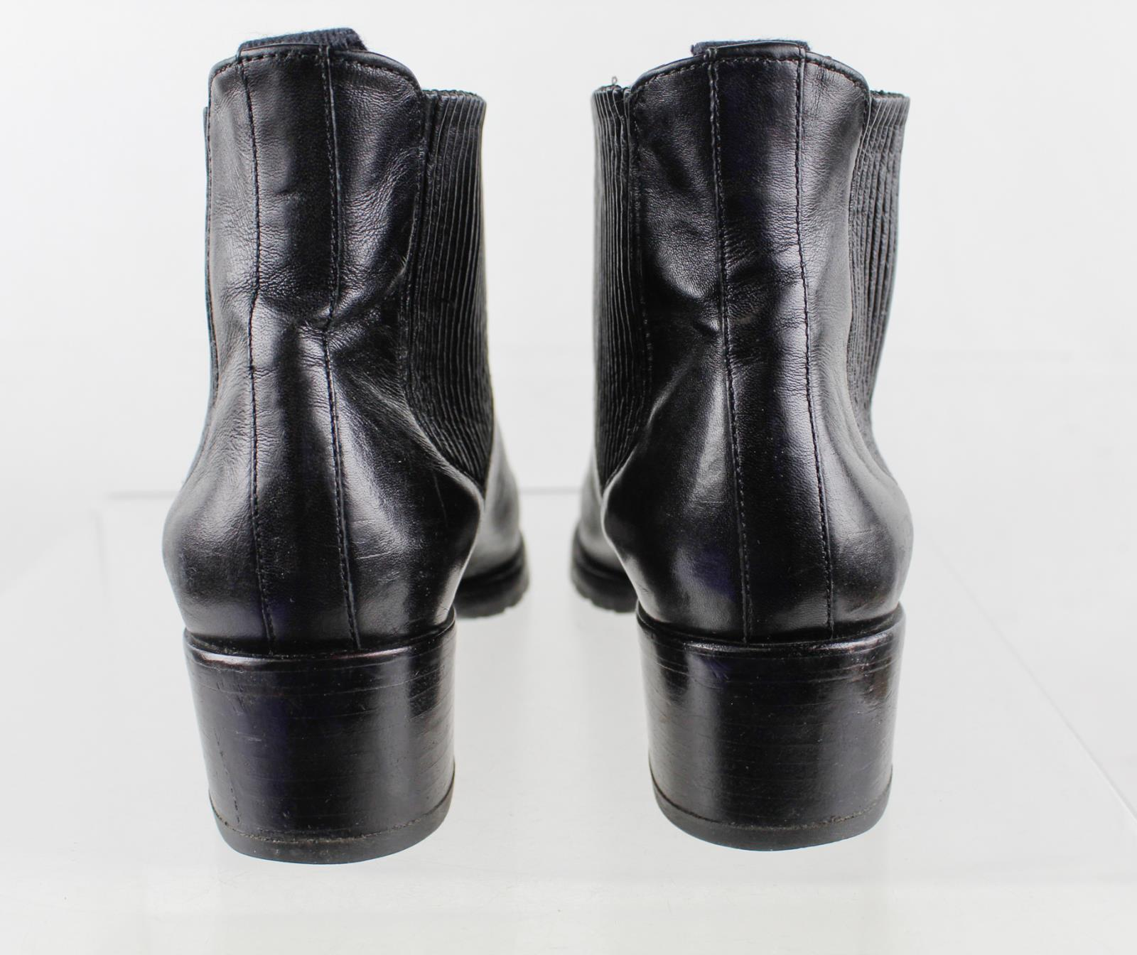 Cole Haan Black Leather Women's Chelsea Boots Size 5.5B | eBay