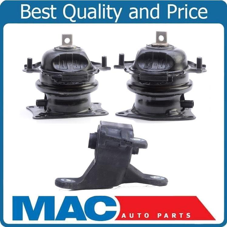 100% New Front Rear Engine & Rear Transmission Mounts For
