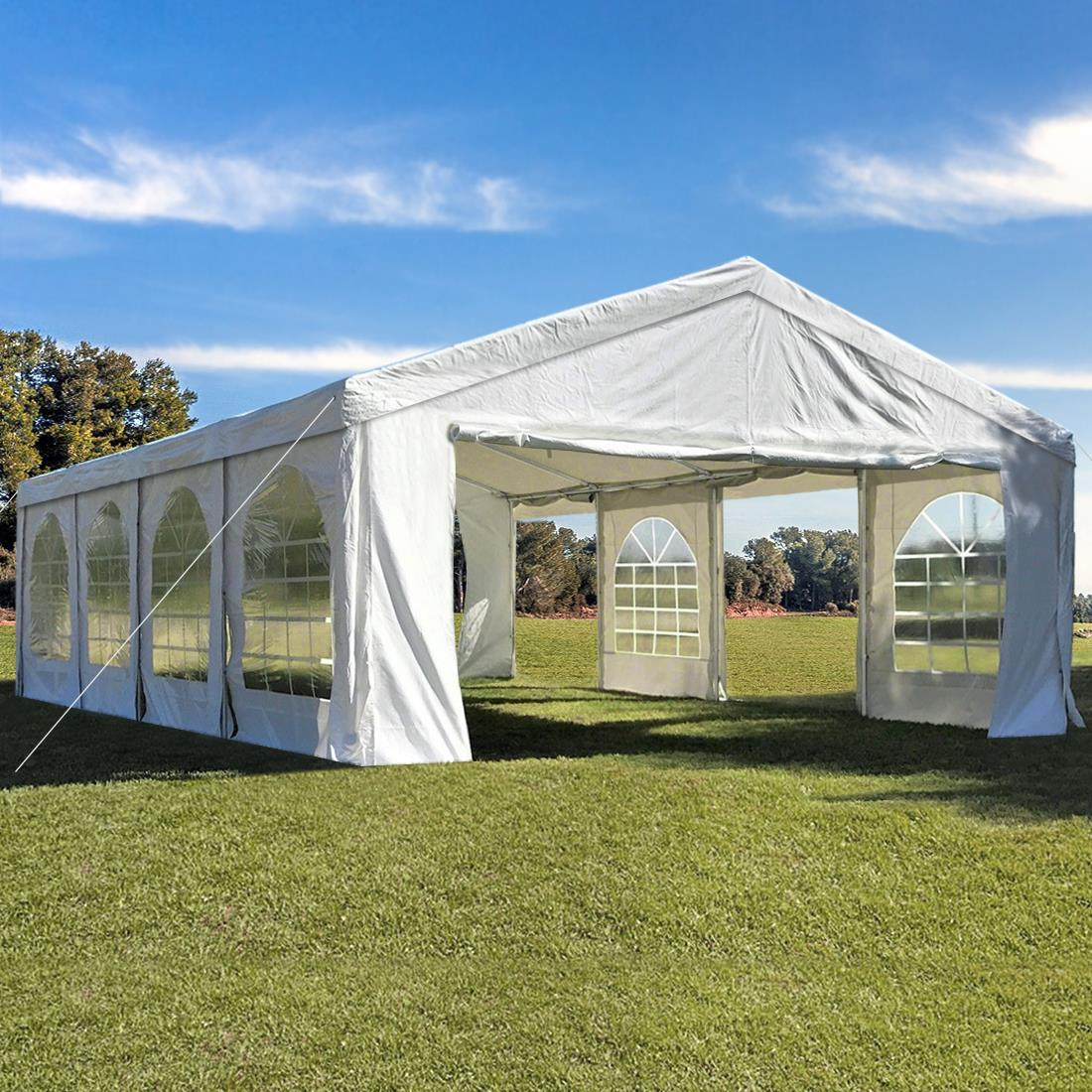 Peaktop-Heavy-Duty-Party-Tent-Event-Canopy-Gazebo-Wedding-Tent-With-Carry-Bag thumbnail 5