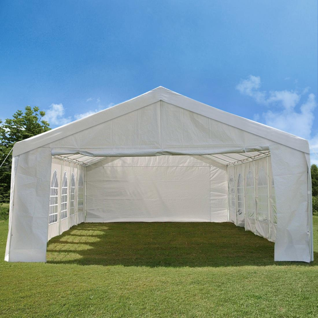 Peaktop-Heavy-Duty-Party-Tent-Event-Canopy-Gazebo-Wedding-Tent-With-Carry-Bag thumbnail 7