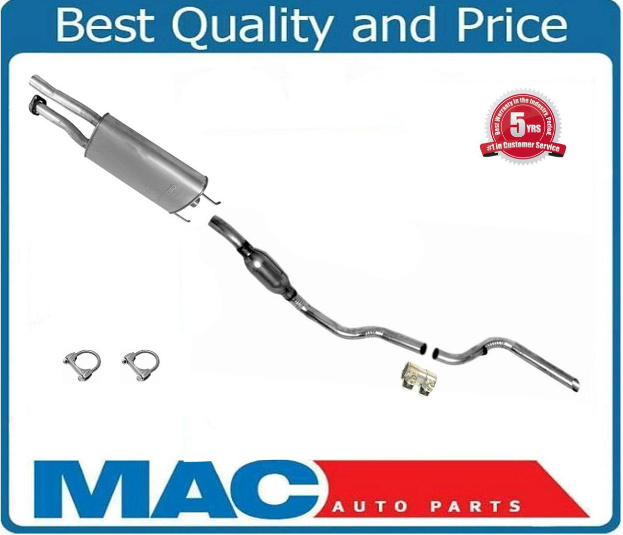 Details about Fits 97 to 11/08/99 4 0L Ford Explorer 4 Door Dual Inlet  Muffler Exhaust System