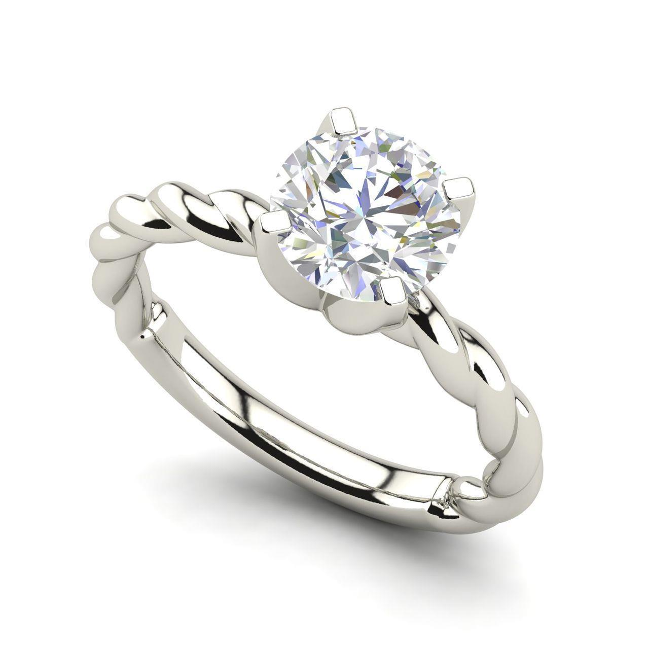 Jewelry & Watches Diamond Latest Collection Of Carat London Engagement Ring White Gold 1.5 Carat Princess Cut Diamond Solitaire