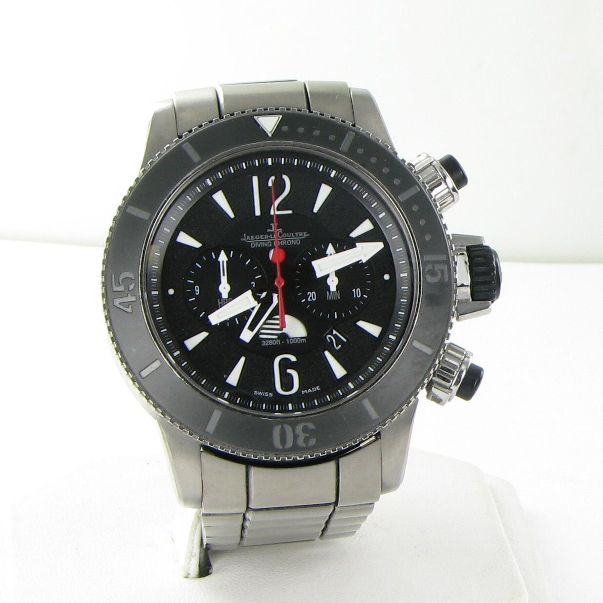 726488dfdcb Details about Jaeger Lecoultre Navy Seals Master Compressor Diving Chrono  GMT Watch Q178T170