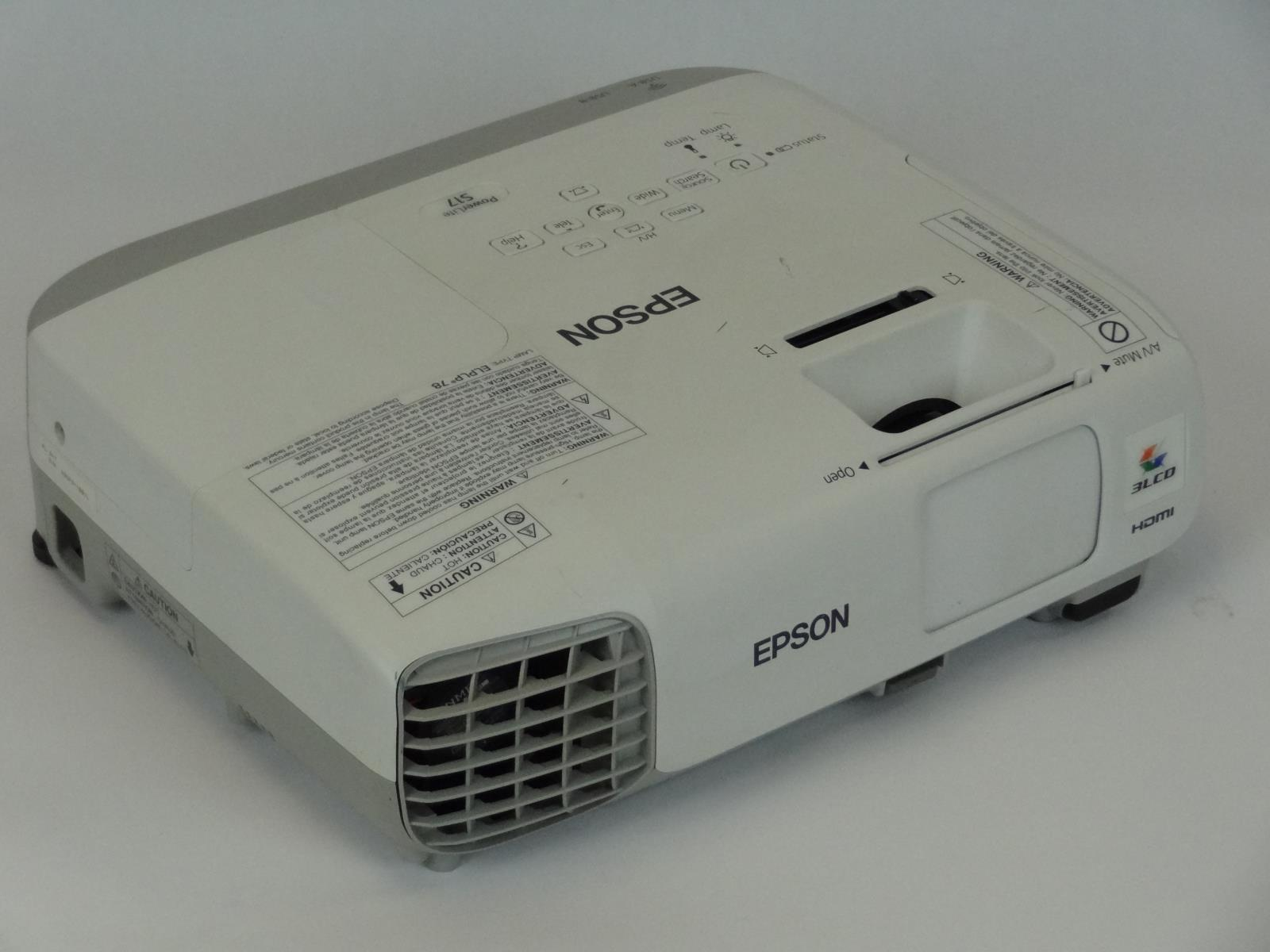 epson powerlite s17 3lcd projector 2660 total lamp hours ebayepson powerlite s17 3lcd projector 2660 total lamp hours