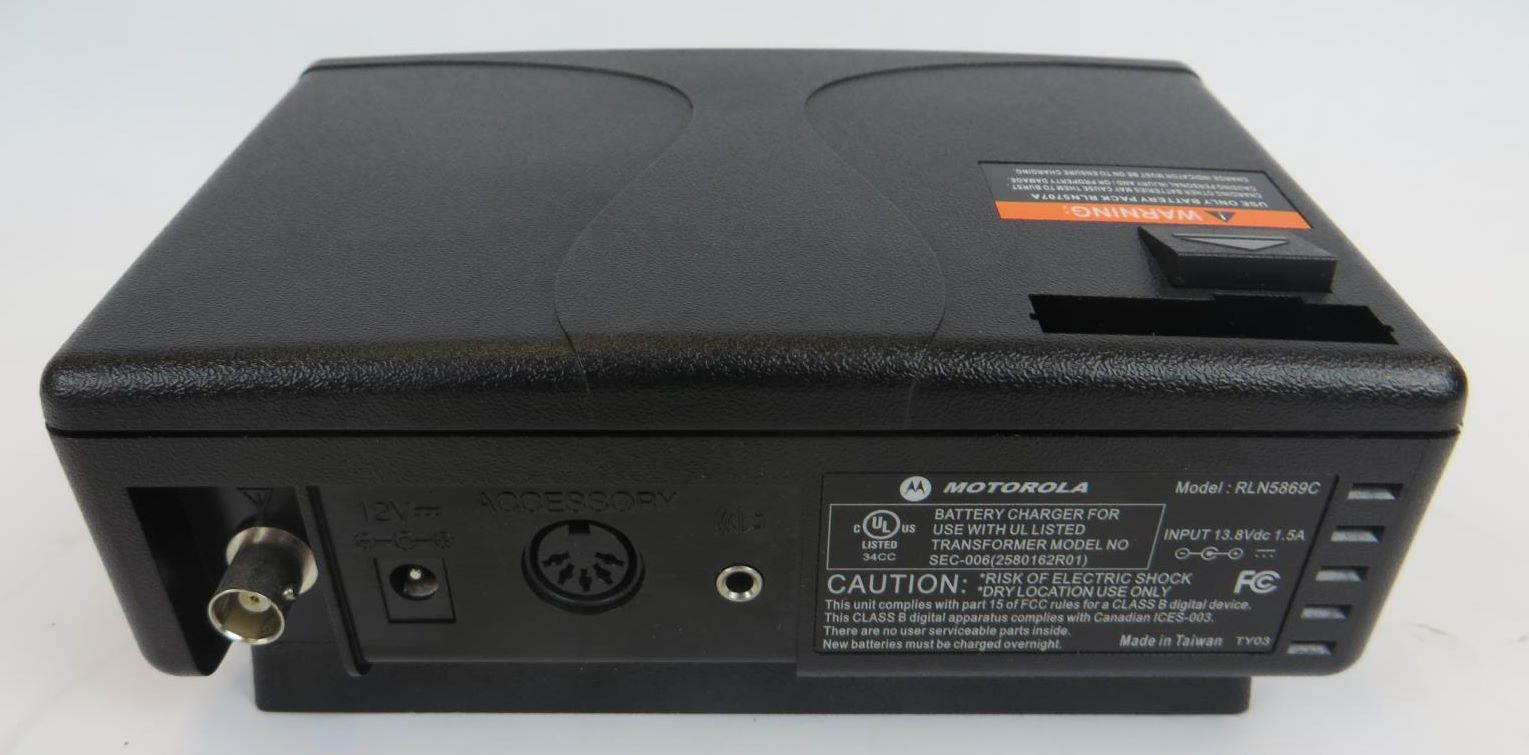 Motorola Rln5869c Minitor V Pager Amplified Charger Amp Base