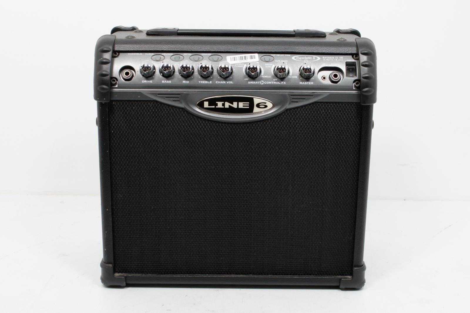 line 6 spider iii 15 15 watt guitar amp for sale online ebay. Black Bedroom Furniture Sets. Home Design Ideas