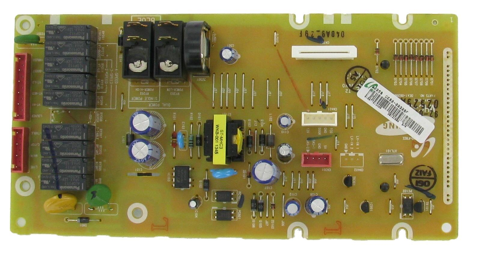 Samsung Microwave Oven Main Cb Assembly Board Part