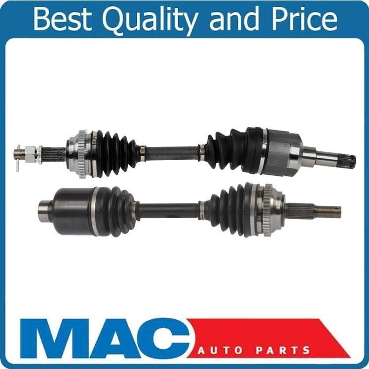 100/% NEW L R Frt CV Drive Axle Shaft 03-08 Cruiser Turbo W// Manual Transmission