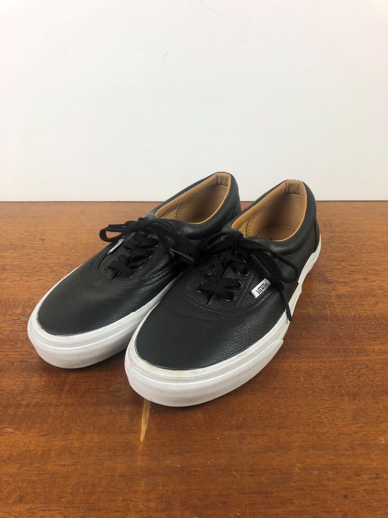 Vans Men's Era Premium Leather Black