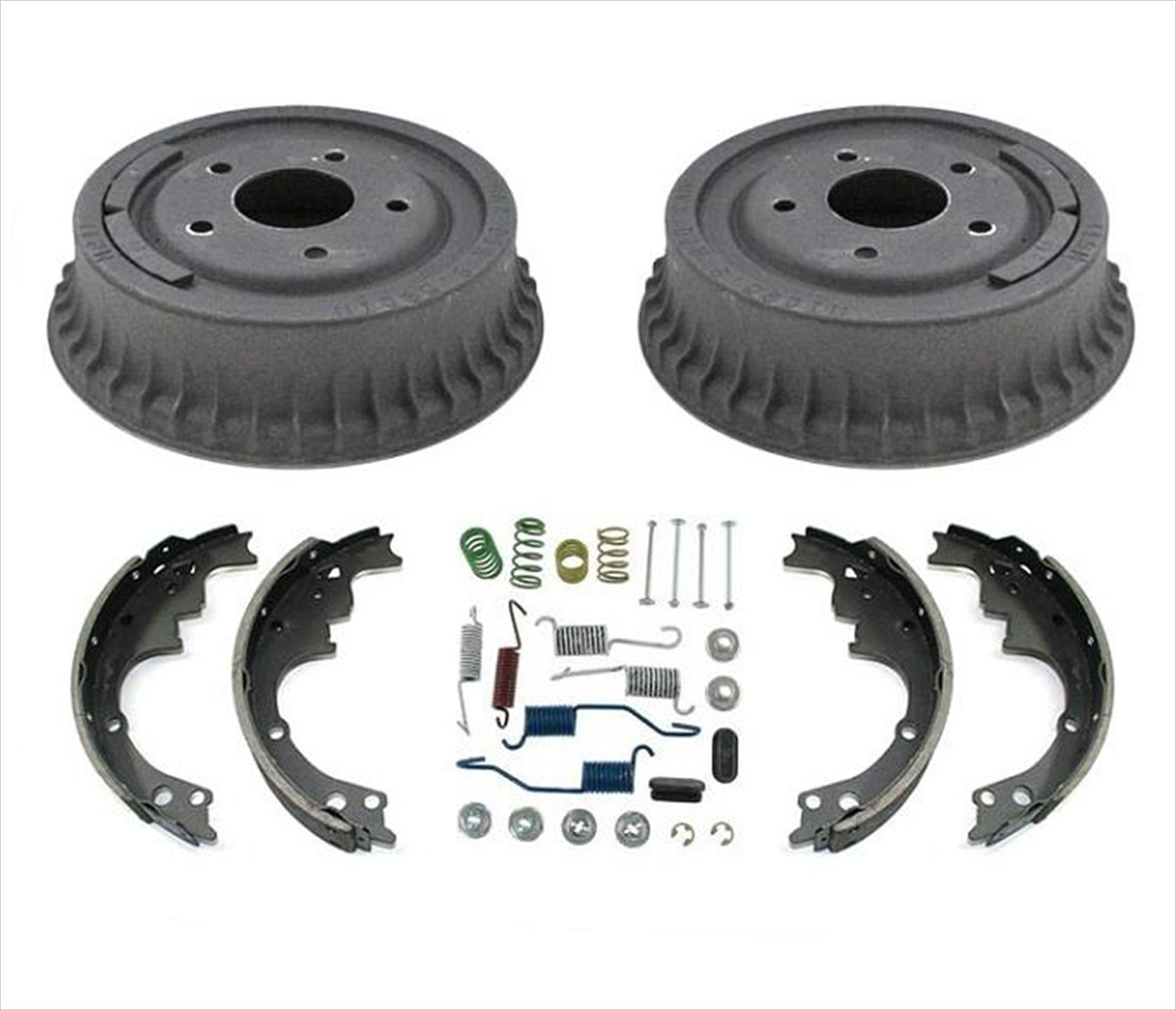 Both Left and Right with 2 Years Manufacturer Warranty 2014 For Chevrolet Cruze Rear Drum Brake Shoes Set