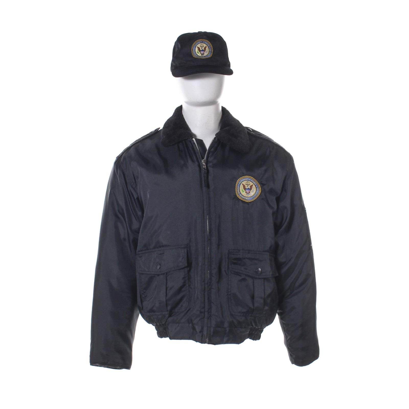 OITNB-CO-Blake-Nick-Dillenburg-Screen-Worn-Dept-Of-Corrections-Jacket-amp-Hat-Ss-6