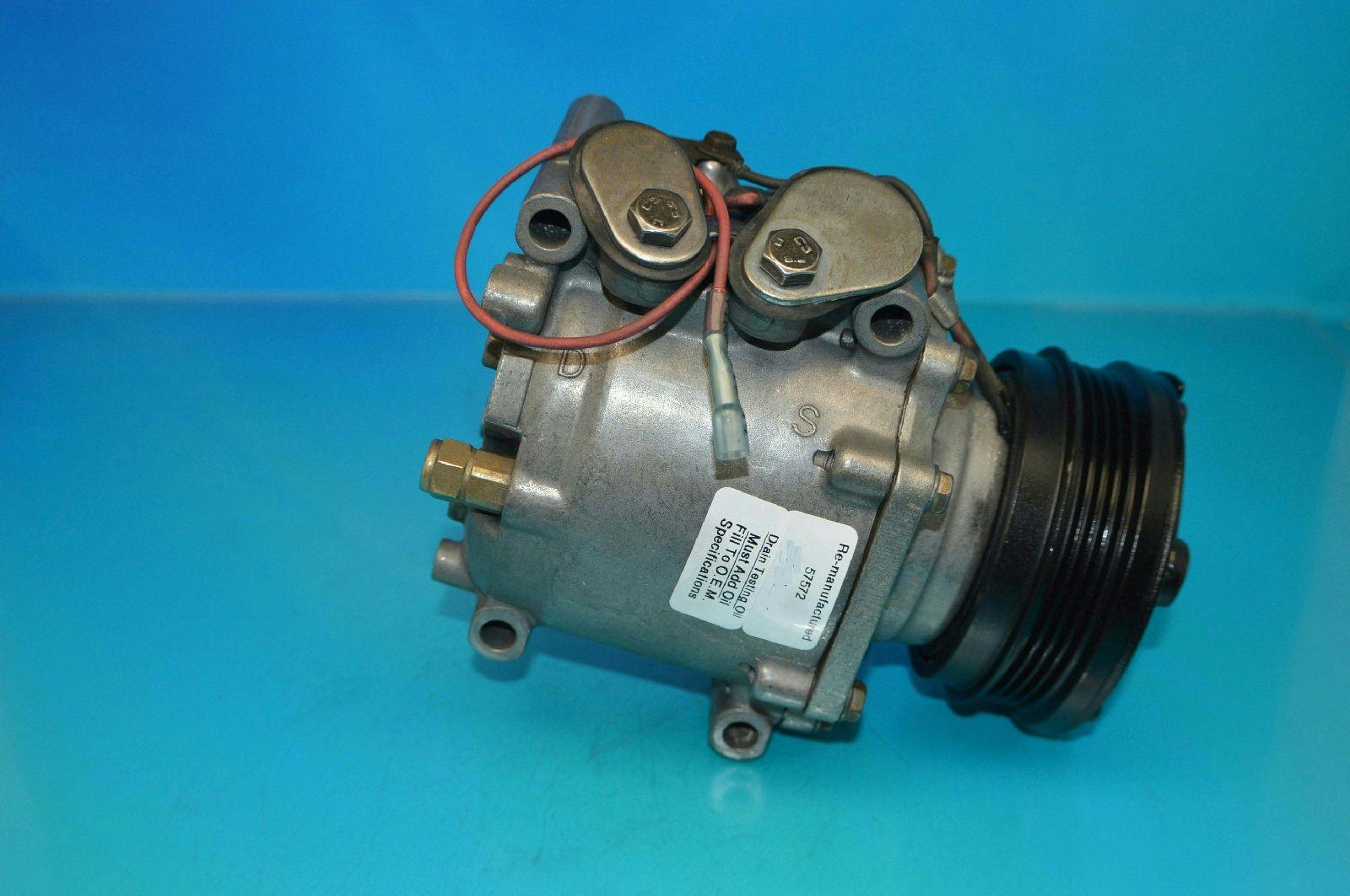 Reman A//C Compressor Honda Civic 1992-1993 ; Honda Civic Del Sol 1993