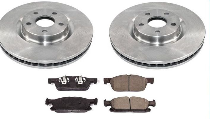 2 Front Brake Rotors /& Ceramic Pads 100/% All New for 93-02 Quest Villager Van