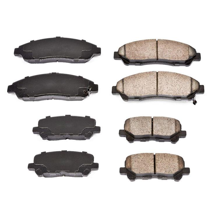 Front And Rear Ceramic Brake Pads For Acura MDX 2007-2010