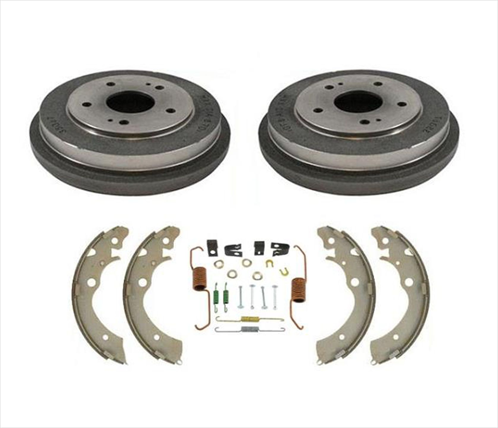 2000 For Toyota Echo Rear Drum Brake Shoes Set with 2 Years Manufacturer Warranty Both Left and Right