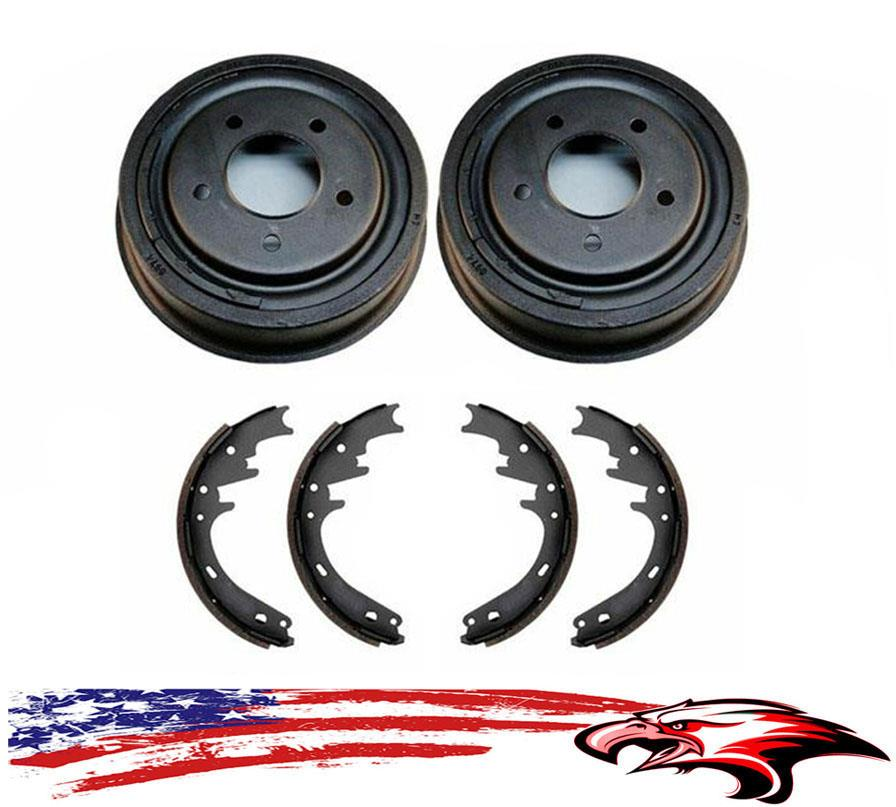 100/% New Rear Drums Shoes Wheel Cylinders Spring Kit Bronco Full Size E150 F150