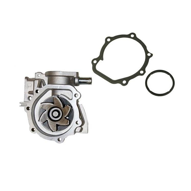 one outlet engine water pump with gasket for subaru outback 2 5 2000