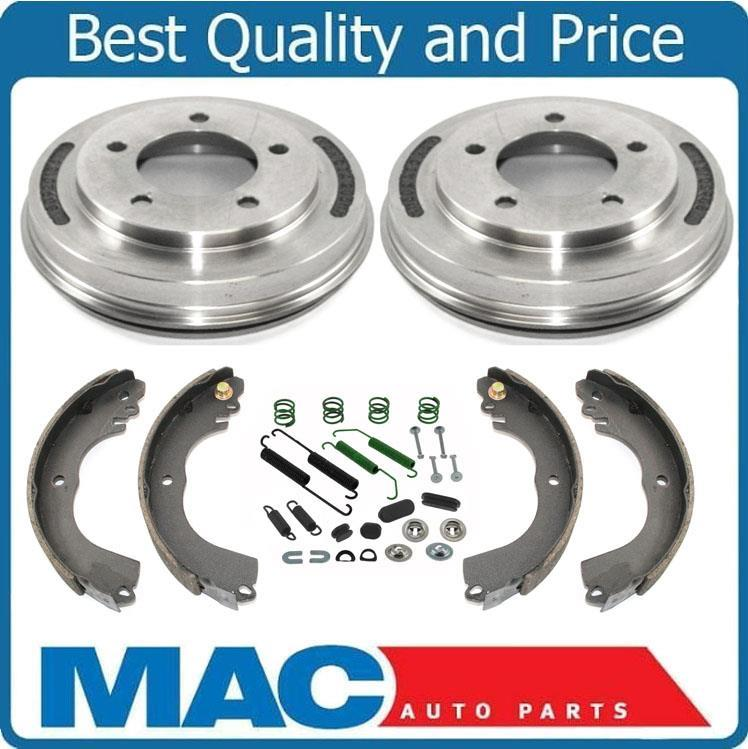 2006 For Mitsubishi Lancer Rear Drum Brake Shoes Set with 2 Years Manufacturer Warranty Both Left and Right