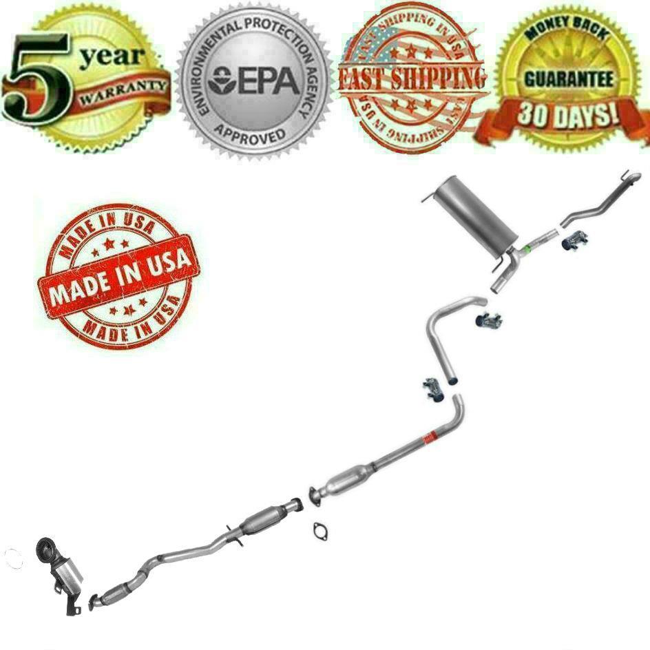 Muffler Exhaust System + Catalytic Converter Fits 2011