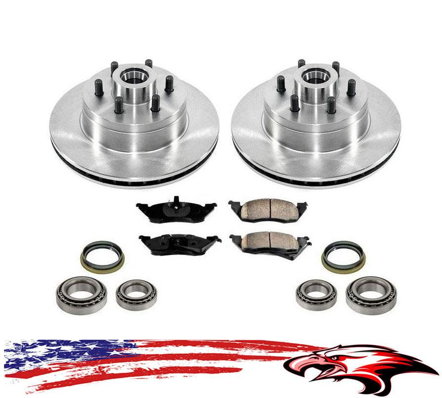 Front and Rear Metallic Disc Brake Pads and Shoes For Dodge Dakota RWD 2003-2004