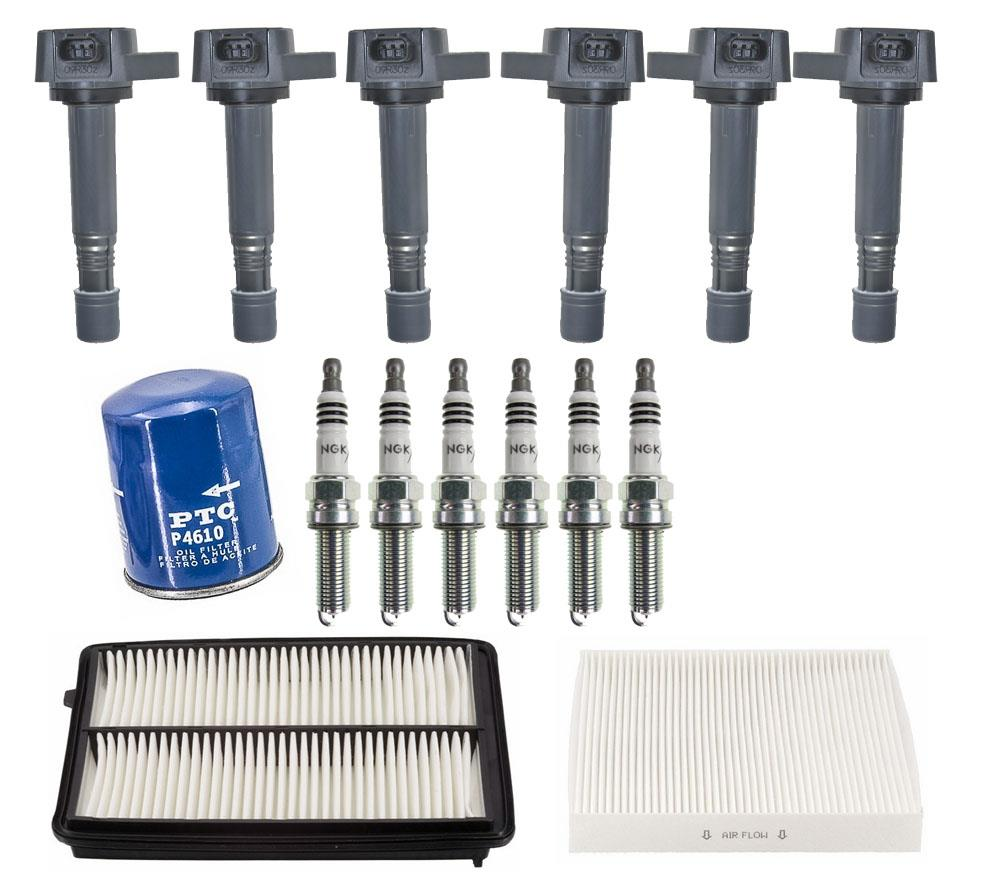 Direct Ignition Coils Spark Plugs & Filters For Acura RDX
